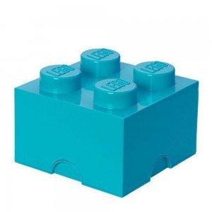 باکس اسباب بازی تک عددی ایرانی آبی Storage Brick lego کد1111