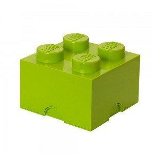 باکس اسباب بازی تک عددی ایرانی سبز Storage Brick lego  کد1111