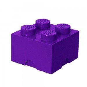 باکس اسباب بازی تک عددی بنفش Storage Brick  کد1111