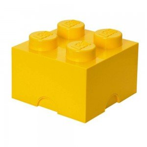 باکس اسباب بازی تک عددی ایرانی زرد Storage Brick  کد1111