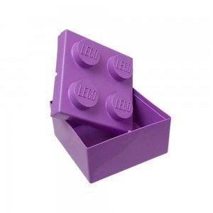 باکس اسباب بازی تک عددی بنفش original Storage Brick  lego