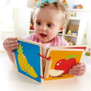 کتابچه چوبی 0039 hape BABY BOOK, FRUIT