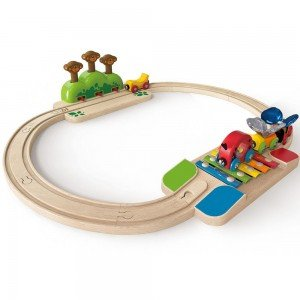 ریل قطار کودک 3814 MY LITTLE RAILWAY SET hape