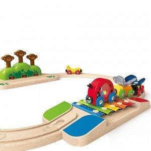 ریل قطار کودک Rainbow Route Railway hape کد 3816