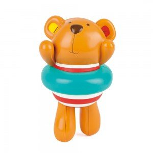 تدی شناگر SWIMMER TEDDY WIND-UP TOY hape 0204