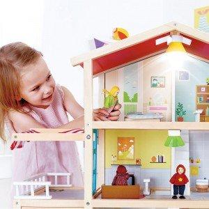 خانه وسایل DOLL FAMILY MANSION hape 3405