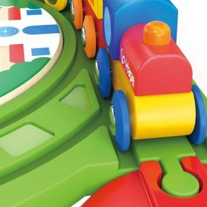 قطار بلوک های بازی چوبی Hape مدل 0417