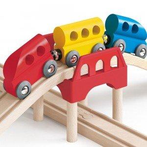 ریل قطار کودک 3814 MY LITTLE RAILWAY SET hape
