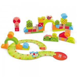 بلوک چوبی کودک SUNNY VALLEY PLAY BLOCKS hape 0449
