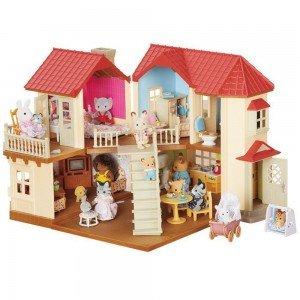 خانه عروسک شهری با چراغ 2752 sylvanian families