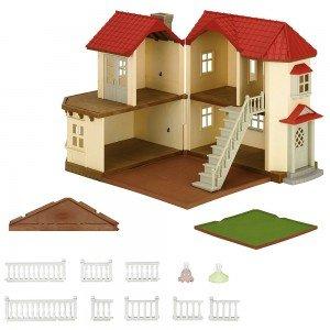 قیمت خانه شهری با چراغ 2752 sylvanian families