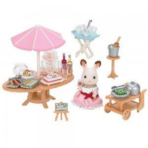 لوازم مهمانی کنار آب خرگوش 5207 sylvanian families
