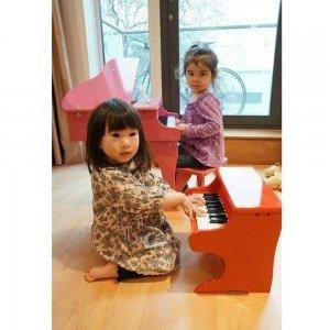 قیمت پیانو چوبی کودک playful piano hape 0318