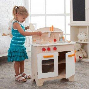 آشپزخانه چوبی کودک مدل hape 3100