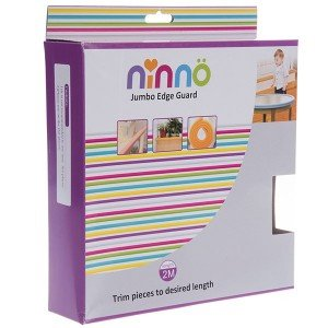 بسته بندی محافظ لبه جامبو کوچک قهوه ای روشن ninno 03