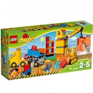 لگو سری Duplo مدل Big Construction Site 10813