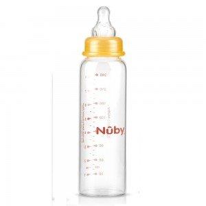 شیشه شیر پیرکس 240 میلی nuby کد1179