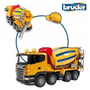 اسباب بازی میکسربتن اسکانیا bruder مدل 03554