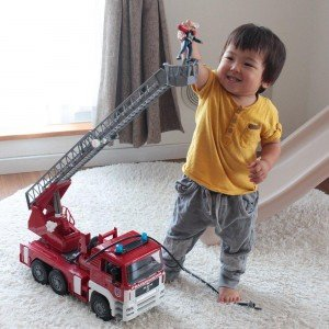 جرثقيل آتش نشانی bruder كد 027704