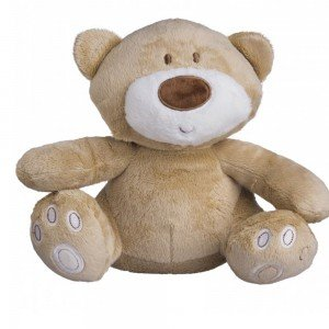 عروسک جغجغه ای تدی خرس بزرگ mothercare