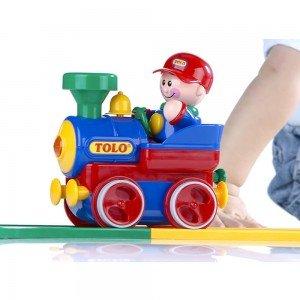 قطار رنگارنگ ساده كودک