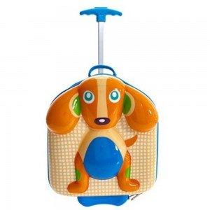 چمدان چرخدار طرح سگ oops  کد3100322