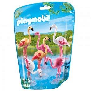 خانواده فلامینگو  پلی موبيل مدل Flamingos 6651