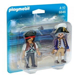پلی موبیل مدل Pirate and Soldier Duo Pack 6846