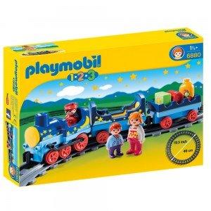 پلی موبیل مدل Night Train with Track 6880