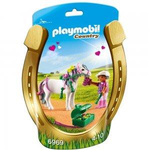 پلی موبیل مدل Groomer with Heart Pony 6969