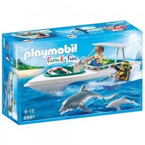 پلی موبيل مدل Diving Trip with Speedboat 6981