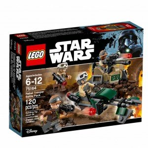 لگو مدل Rebel Trooper Battle Pack 75164