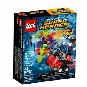 لگو مدل Mighty Micros lego Batman VS  Killer Moth 76069
