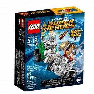 لگو مدل LEGO Mighty Micros Wonder Woman vs Doomsday Set 76070