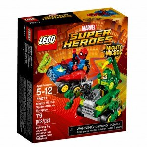 لگو مدل LEGO Mighty Micros Spider Man vs Scorpion  76071