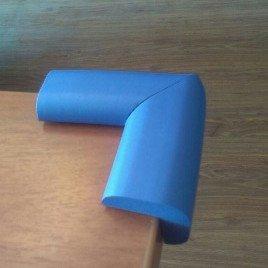محافظ گوشه جامبو آبی بزرگ (4 عددی) ninno cj 13