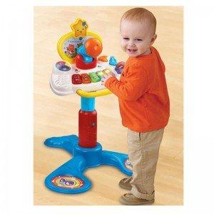 میز بازی موزیکال وی تک Baby Sit to Stand Music Centre 157603 vtech