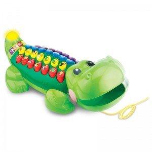 تمساح موزیکال وی تک Alpha-Gator 178403 vtech