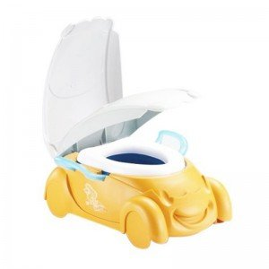 توالت و گارشو 2 کاره طرح ماشین زرد ot10