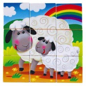 طرح گوسفند بازی اشکال playgo 9030