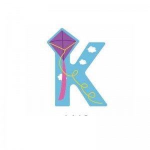 حروف K چوبی classic world 4413