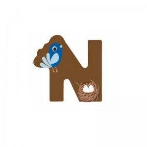 حرف N چوبی classic world 4416