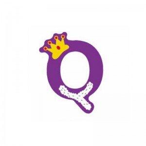 حرف Q چوبی classic world 4419