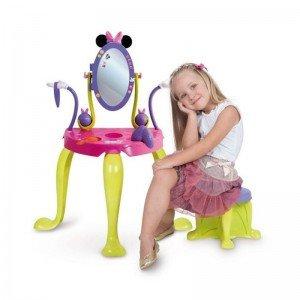 میز آرایش مینی موس آی ام سی تویز vanity with legs and stool IMC