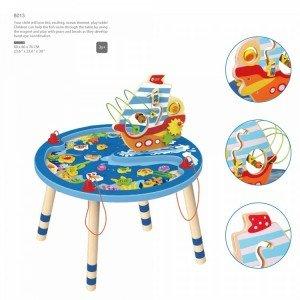 میز بازی طرح اقیانوس Jungle Ocean Adventure Table hape کد1805