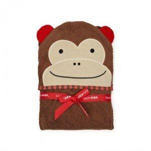 حوله کلاه دار طرح میمون skip hop