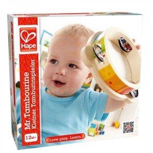 طبل چوبی کودک little drummer hape 0303