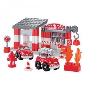 ست ایستگاه آتش نشانی ecoiffier 3080