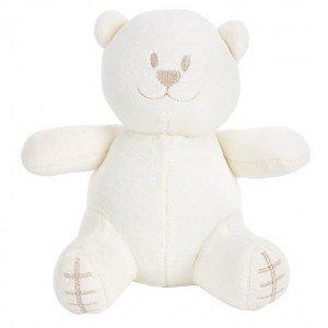 عروسک مخمل طرح خرس سفید emile rose