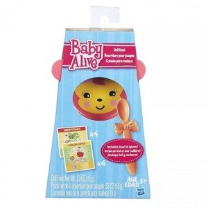 غذای عروسک baby slive doll food 8581 hasbro